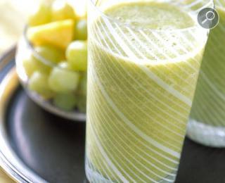 Δροσιστικό ποτό από σταφύλια και πράσινο τσάι !